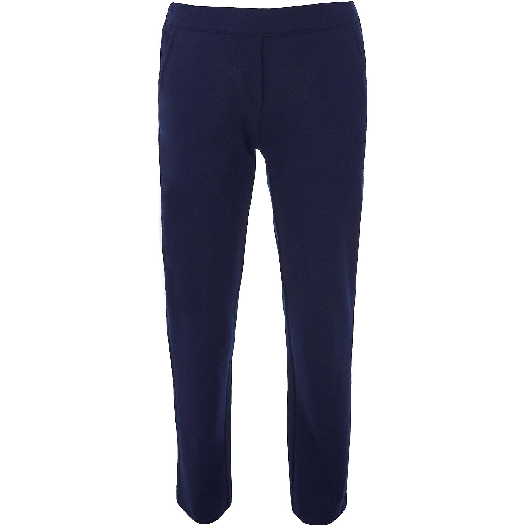 Брюки для девочки BUTTON BLUEБрюки<br>Брюки для девочки BUTTON BLUE<br>Какие брюки для девочек станут основой школьного гардероба? Те, кто уже носил брюки из плотного трикотажа знают: трикотажные школьные брюки - это элегантность, удобство и свобода движений. Купить синие школьные брюки от Button Blue, значит, обеспечить ребенку повседневный комфорт.<br>Состав:<br>75% полиэстер, 21% вискоза,             4% эластан<br><br>Ширина мм: 215<br>Глубина мм: 88<br>Высота мм: 191<br>Вес г: 336<br>Цвет: синий<br>Возраст от месяцев: 108<br>Возраст до месяцев: 120<br>Пол: Женский<br>Возраст: Детский<br>Размер: 140,134,128,122,164,158,152,146<br>SKU: 6739465