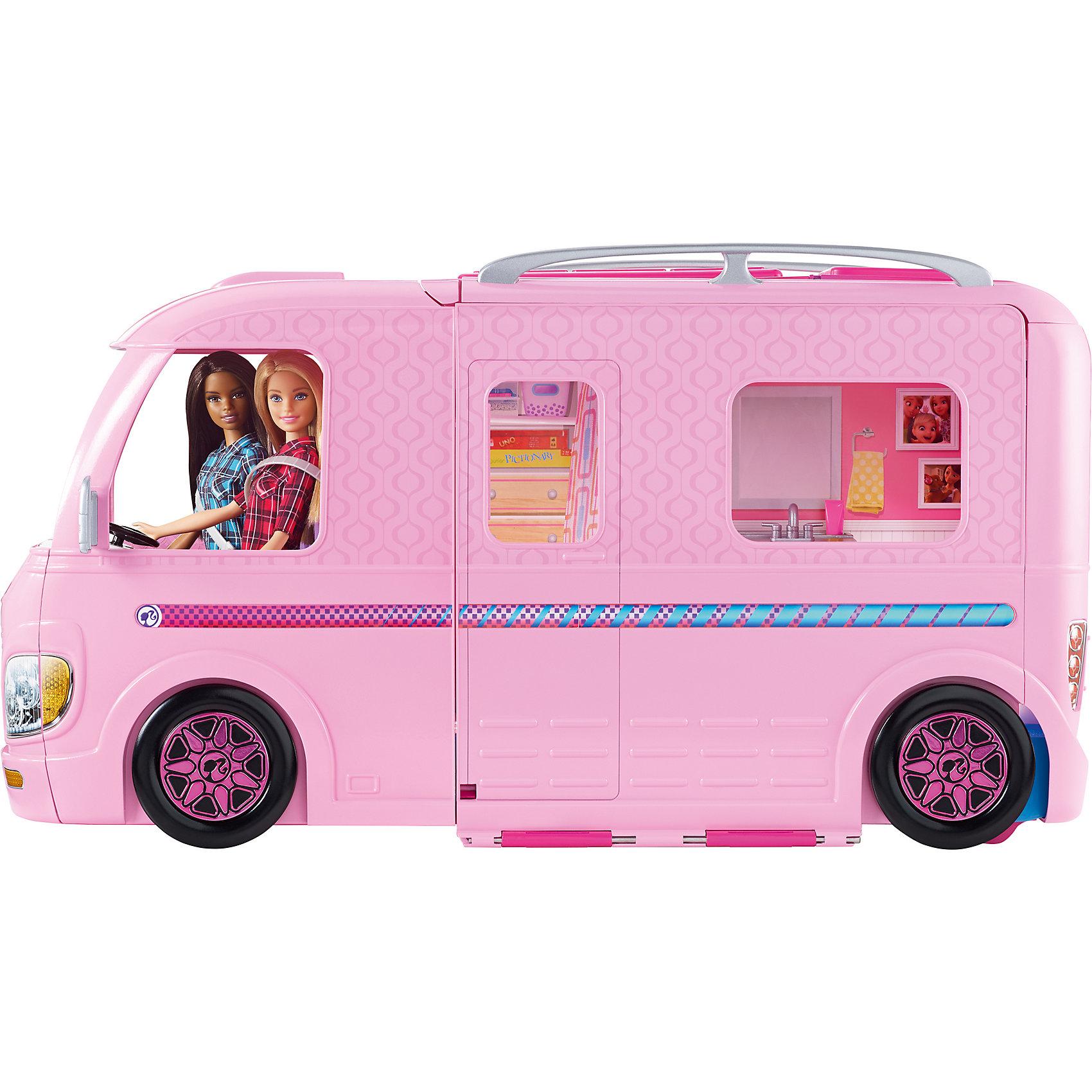 Волшебный раскладной фургон BarbieПопулярные игрушки<br><br><br>Ширина мм: 610<br>Глубина мм: 246<br>Высота мм: 350<br>Вес г: 5482<br>Возраст от месяцев: 36<br>Возраст до месяцев: 72<br>Пол: Женский<br>Возраст: Детский<br>SKU: 6739665