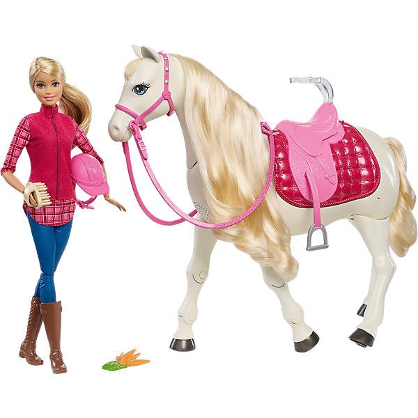 Игровой набор Barbie Кукла и лошадь мечтыКуклы<br><br><br>Ширина мм: 592<br>Глубина мм: 363<br>Высота мм: 200<br>Вес г: 2865<br>Возраст от месяцев: 36<br>Возраст до месяцев: 72<br>Пол: Женский<br>Возраст: Детский<br>SKU: 6739667