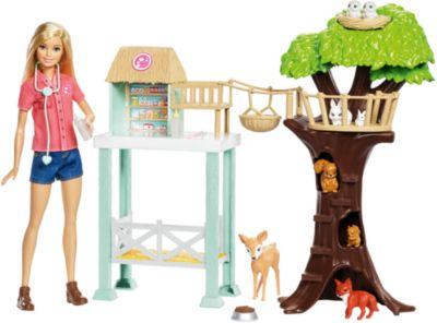 Mattel Игровой Набор Barbie Спасатель Животных фото-1