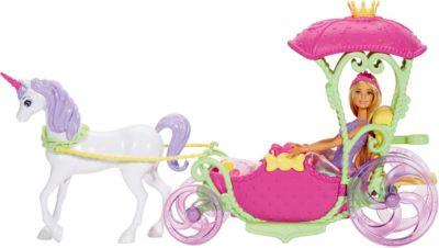 Mattel Игровой набор Barbie Конфетная карета и кукла