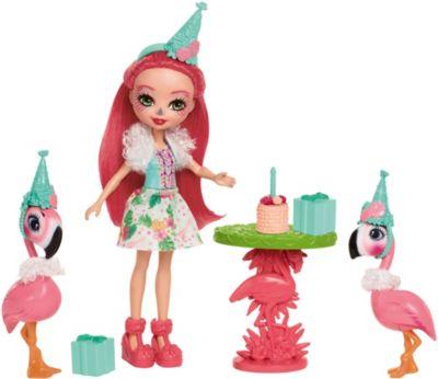 Mattel Набор с куклой Enchantimals День рождения фламинго