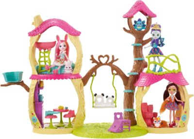 Mattel Игровой набор Enchantimals Лесной замок