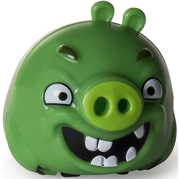Птичка на колесиках Свинья, Angry BirdsФигурки из мультфильмов<br>Характеристики товара:<br><br>• возраст от 3 лет;<br>• материал: пластик;<br>• размер машинки 6 см;<br>• размер упаковки 15х16х4 см;<br>• вес упаковки 320 гр.;<br>• страна производитель: Китай.<br><br>Птичка на колесиках «Свинья» Angry Birds — персонаж известной компьютерной игры Angry Birds, в которой злые птички сражаются со смешными зелеными поросятами. Игрушка выполнена в виде зеленой свинки на колесиках, благодаря которым она может ездить по поверхности. Дети могут собрать целую коллекцию популярных персонажей. Игрушка изготовлена из качественного пластика.<br><br>Птичку на колесиках «Свинья» Angry Birds можно приобрести в нашем интернет-магазине.<br>Ширина мм: 162; Глубина мм: 149; Высота мм: 40; Вес г: 23; Возраст от месяцев: 48; Возраст до месяцев: 96; Пол: Мужской; Возраст: Детский; SKU: 6741909;