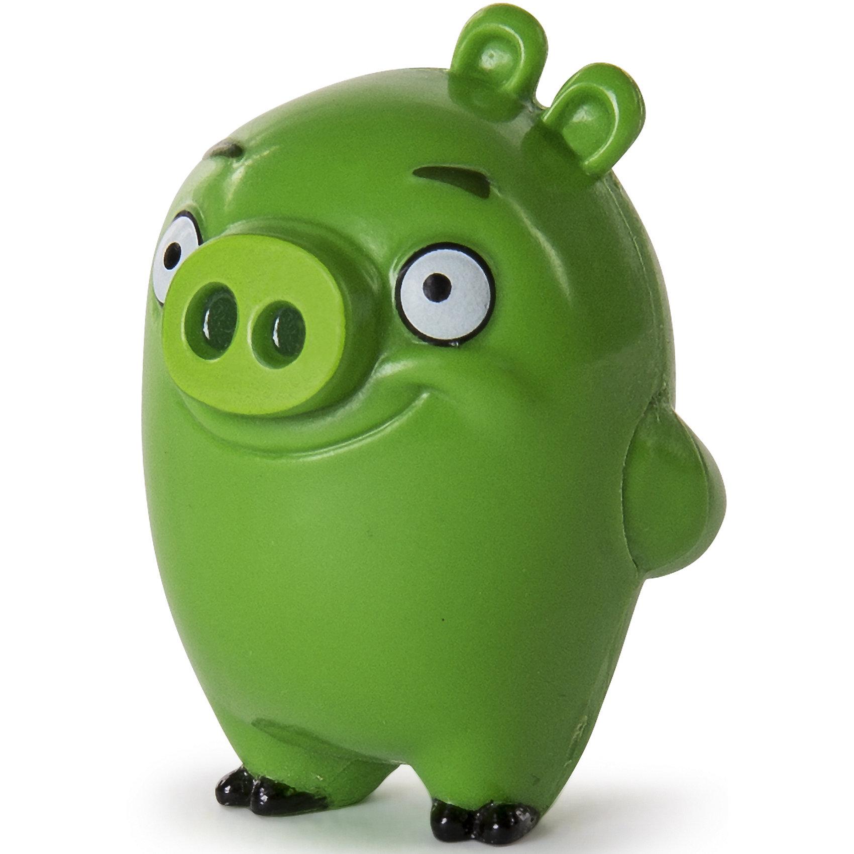 Коллекционная фигурка Свинья, Angry BirdsЛюбимые герои<br>Характеристики товара:<br><br>• возраст от 3 лет;<br>• материал: пластик;<br>• высота фигурки 5 см;<br>• размер упаковки 15х16х4 см;<br>• вес упаковки 320 гр.;<br>• страна производитель: Китай.<br><br>Коллекционная фигурка «Свинья» Angry Birds — персонаж известной компьютерной игры Angry Birds, в которой злые птички сражаются со смешными зелеными поросятами. Дети могут собрать целую коллекцию популярных персонажей, а также придумать с ними сюжеты для игры. Игрушка изготовлена из качественного пластика.<br><br>Коллекционную фигурку «Свинья» Angry Birds можно приобрести в нашем интернет-магазине.<br><br>Ширина мм: 131<br>Глубина мм: 123<br>Высота мм: 45<br>Вес г: 23<br>Возраст от месяцев: 48<br>Возраст до месяцев: 96<br>Пол: Мужской<br>Возраст: Детский<br>SKU: 6741915