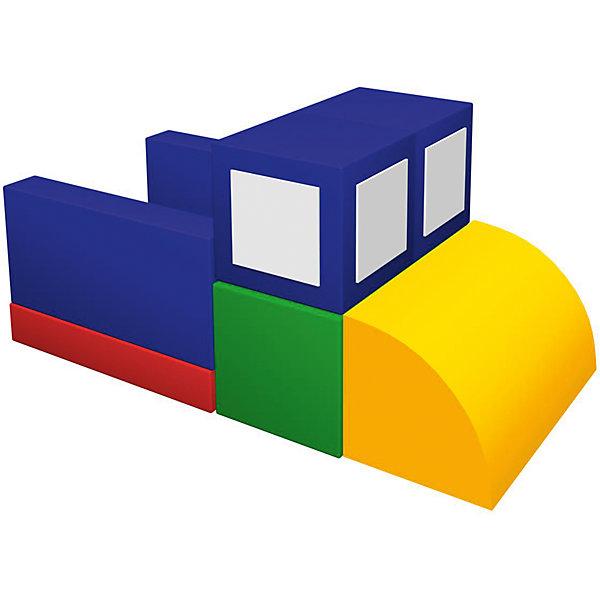 Игровой мягкий комплекс Самосвал, RomanaДетские мягкие кресла<br>Характеристики:<br><br>• развивает мышление и фантазию;<br>• знакомит ребенка с геометрическими фигурами;<br>• в комплекте: кубик (4 шт.), мат, прямоугольник (2 шт.), полуцилиндр;<br>• размер кубика: 30х30х30 см;<br>• размер мата: 60х60х10 см;<br>• размер прямоугольника: 60х30х10 см;<br>• размер полуцилиндра: 60х30х30 см;<br>• размер упаковки: 60х60х120 см;<br>• вес: 8000 грамм.<br><br>Игровой комплекс Самосвал поможет развить фантазию, мелкую моторику, логическое мышление и координацию движений. <br><br>В комплект входят различные фигуры: кубики, мат, прямоугольники и полуцилиндр. Из них ребенок сможет собрать большой мягкий самосвал или, проявив фантазию, придумать любую понравившуюся фигуру. <br><br>Игра с комплексом познакомит ребенка с геометрическими фигурами и цветами. Комплекс Самосвал подойдет как для дома, так и для детских учреждений. <br><br>Игровой мягкий комплекс Самосвал, Romana (Романа) можно купить в нашем интернет-магазине.<br>Ширина мм: 1200; Глубина мм: 600; Высота мм: 600; Вес г: 8000; Возраст от месяцев: 36; Возраст до месяцев: 60; Пол: Мужской; Возраст: Детский; SKU: 6742451;