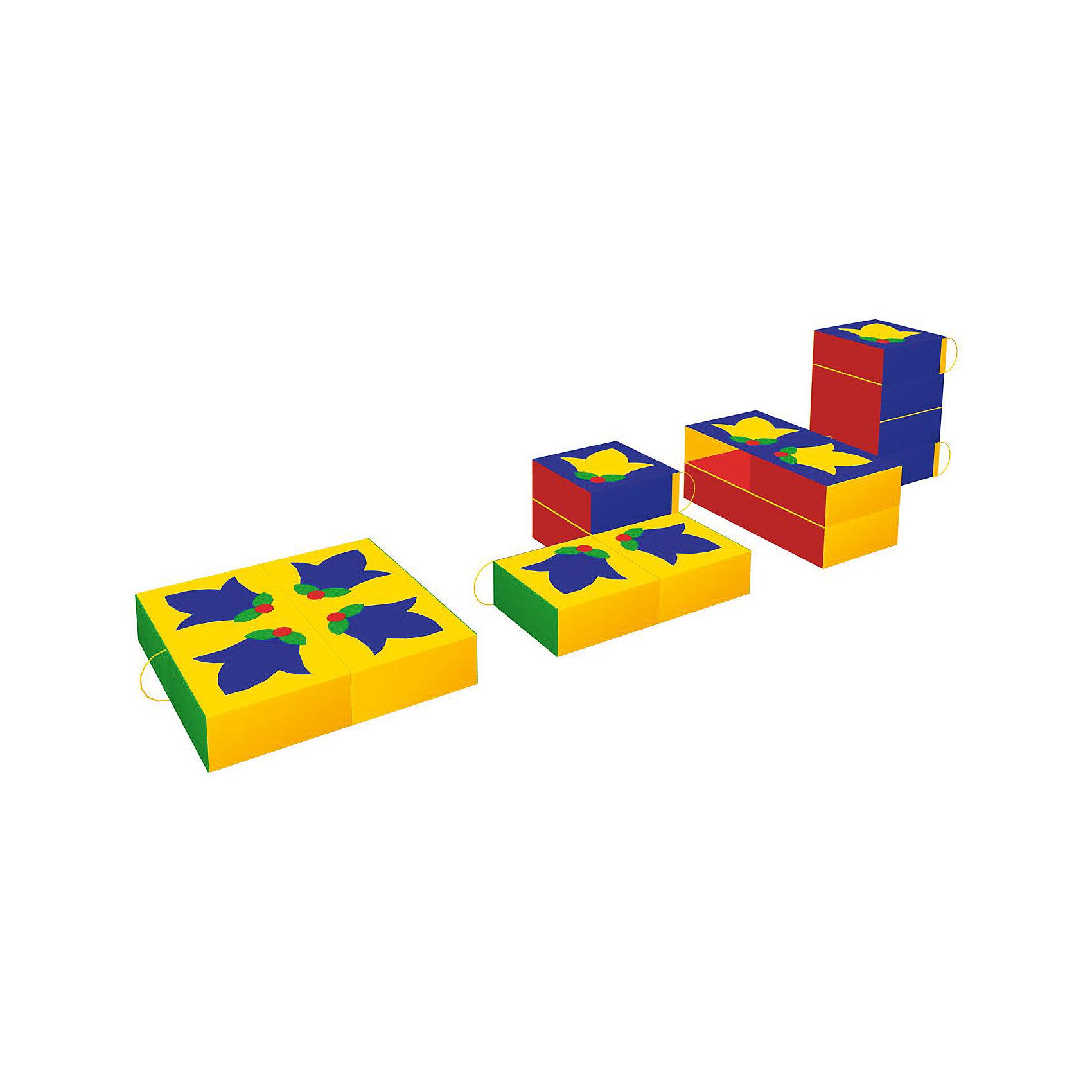 Игровая мебель Клумба, RomanaМебель<br>Характеристики:<br><br>• развивает фантазию, пространственное мышление, моторику рук;<br>• в комплекте: 4 фигуры;<br>• материал: винилискожа, поролон;<br>• размер упаковки: 80х80х10 см;<br>• вес: 1800 грамм.<br><br>Игровая мебель Клумба состоит из четырех крупных мягких деталей. Из этих деталей ребенок сможет сложить квадрат, построить башню или любое оригинальное сооружение. <br><br>На одной стороне деталей нарисованы колокольчики, образующие красивые узор. Играя с Клумбой, ребенок познакомится с формами, цветами, а игра поможет развить моторику рук и пространственное мышление.<br><br>Мебель изготовлена из поролона, обшитого винилискожей - ребенок не ушибется в процессе игры. Все элементы легко очищаются моющими средствами.<br><br>Игровую мебель Клумба, Romana (Романа) вы можете купить в нашем интернет-магазине.<br><br>Ширина мм: 800<br>Глубина мм: 800<br>Высота мм: 100<br>Вес г: 1800<br>Возраст от месяцев: 36<br>Возраст до месяцев: 60<br>Пол: Унисекс<br>Возраст: Детский<br>SKU: 6742452