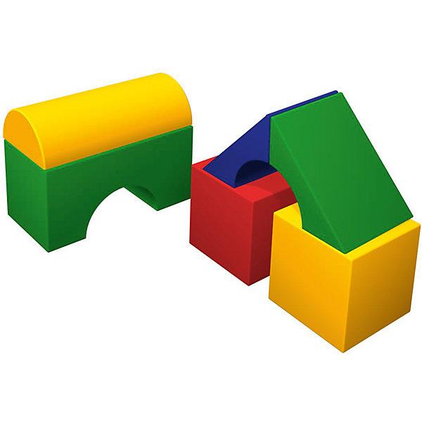 Мягкий конструктор Теремок мини, RomanaДетские мягкие кресла<br>Характеристики:<br><br>• знакомит с формами, цветами и геометрическими фигурами;<br>• развивает фантазию, логическое мышление и моторику рук;<br>• в комплекте: 2 кубика, 2 маленьких моста, большой мост;<br>• размер кубика: 30х30х30 см;<br>• размер полуцилиндра: 60х30х15 см;<br>• размер большого моста: 60х30х30 см;<br>• размер маленького моста: 42,5х11,5х30 см;<br>• размер упаковки: 60х90х90 см;<br>• вес: 6000 грамм.<br><br>Теремок мини - мягкий конструктор для развивающих игр. В комплект входят два кубика, два маленьких моста, большой мост и полуцилиндр. Ребенок сможет проявить фантазию и построить интересное сооружение или башню. <br><br>Игра с мягким конструктором способствует развитию моторики рук, фантазии, пространственного и логического мышления. Теремок мини познакомит ребенка с геометрическими фигурами, цветами, формами и размерами. <br><br>Конструктор легко очищается от загрязнений при необходимости. Игрушку можно использовать дома или в детских учреждениях.<br><br>Мягкий конструктор Теремок мини, Romana (Романа) вы можете купить в нашем интернет-магазине.<br><br>Ширина мм: 900<br>Глубина мм: 900<br>Высота мм: 600<br>Вес г: 6000<br>Возраст от месяцев: 36<br>Возраст до месяцев: 60<br>Пол: Унисекс<br>Возраст: Детский<br>SKU: 6742457