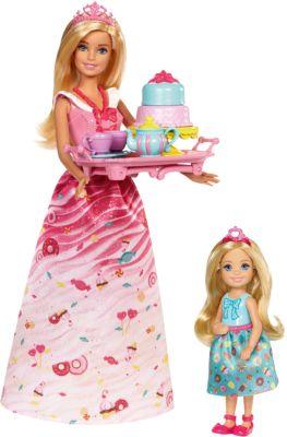 Mattel Игровой набор Barbie Чаепитие в Сладкограде