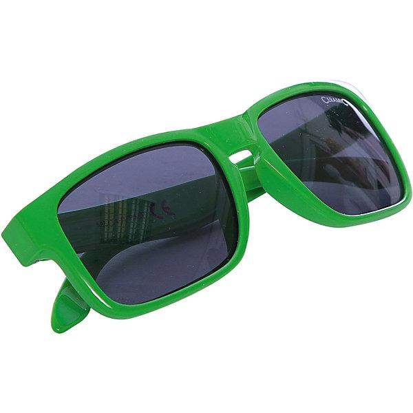 Очки солнцезащитные MITZO, зеленые, ALPINAСолнцезащитные очки<br>Характеристики:<br><br>• возраст: от 6 лет;<br>• материал: пластик;<br>• размер упаковки: 19х3х3 см;<br>• вес упаковки: 200 гр.;<br>• страна производитель: Китай.<br><br>Очки солнцезащитные Alpina Mitzo зеленые защищают глаза от попадания солнечных лучей во время прогулки, отдыха на природе, катания на велосипеде. Благодаря керамической линзе они обеспечивают надежную защиту от всех типов УФ излучения. <br><br>Очки солнцезащитные Alpina Mitzo зеленые можно приобрести в нашем интернет-магазине.<br><br>Ширина мм: 190<br>Глубина мм: 30<br>Высота мм: 30<br>Вес г: 200<br>Возраст от месяцев: 60<br>Возраст до месяцев: 144<br>Пол: Унисекс<br>Возраст: Детский<br>SKU: 6749315
