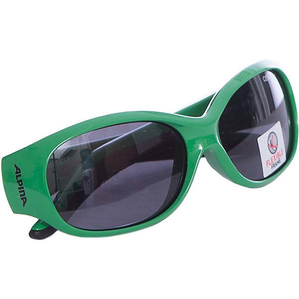 Очки солнцезащитные FLEXXY KIDS, ALPINAСолнцезащитные очки<br>Характеристики:<br><br>• возраст: от 4 лет;<br>• материал: пластик;<br>• размер упаковки: 19х3х3 см;<br>• вес упаковки: 200 гр.;<br>• страна производитель: Китай.<br><br>Очки солнцезащитные Alpina Flexxy Kids защищают глаза от попадания солнечных лучей во время прогулки, отдыха на природе, катания на велосипеде, занятий спортом. Линзы выполнены из прочного материала, устойчивого к разбиванию. Они защищают глаза от всех типов УФ-лучей и не запотевают.<br><br>Очки солнцезащитные Alpina Flexxy Kids можно приобрести в нашем интернет-магазине.<br>Ширина мм: 190; Глубина мм: 30; Высота мм: 30; Вес г: 200; Возраст от месяцев: 60; Возраст до месяцев: 144; Пол: Унисекс; Возраст: Детский; SKU: 6749316;