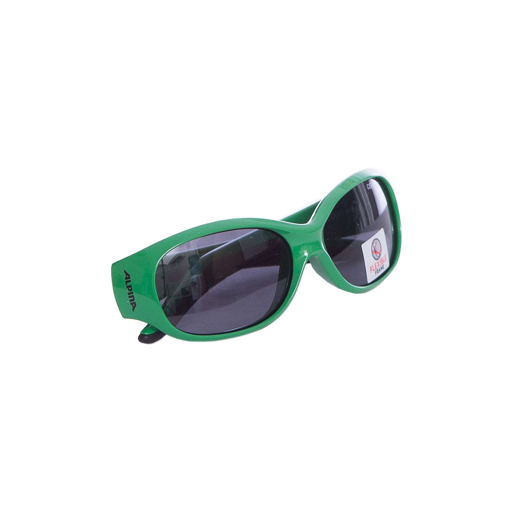 Очки солнцезащитные FLEXXY KIDS, ALPINAСолнцезащитные очки<br><br><br>Ширина мм: 190<br>Глубина мм: 30<br>Высота мм: 30<br>Вес г: 200<br>Возраст от месяцев: 60<br>Возраст до месяцев: 144<br>Пол: Унисекс<br>Возраст: Детский<br>SKU: 6749316