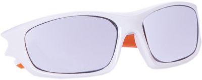 Очки солнцезащитные FLEXXY TEEN, бело-оранжевые, ALPINA, артикул:6749318 - В дороге