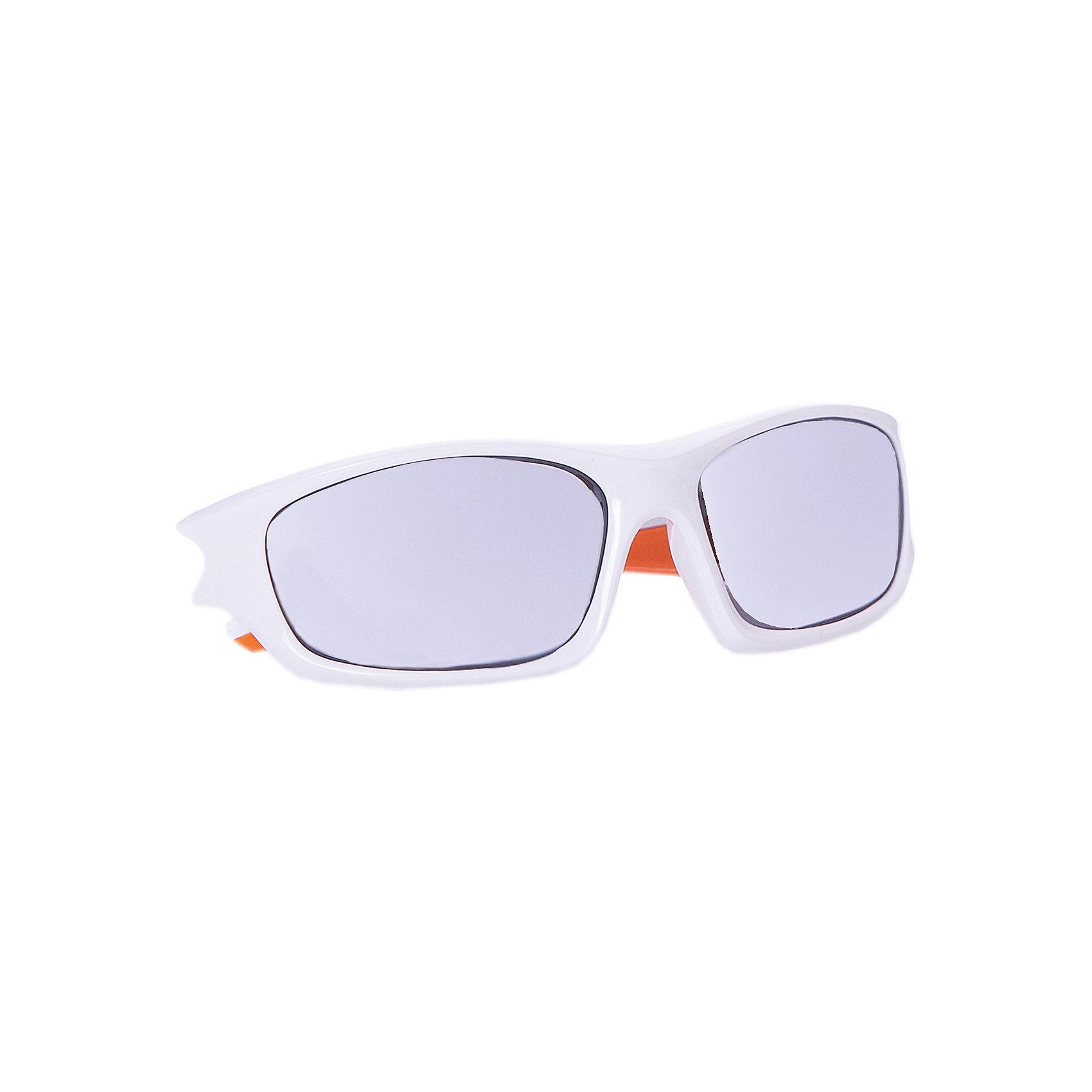 Очки солнцезащитные FLEXXY TEEN, бело-оранжевые, ALPINA