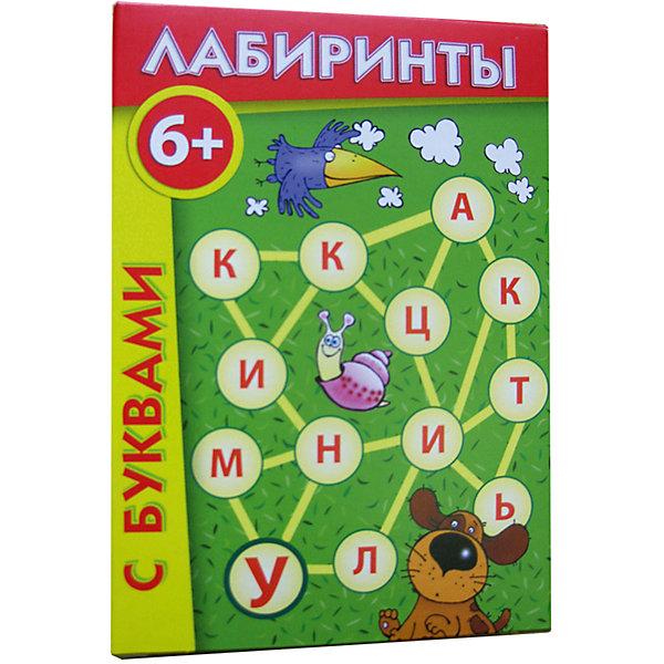 Лабиринты с буквами, Игротека Татьяны БарчанВикторины и ребусы<br>Лабиринты с буквами, Игротека Татьяны Барчан.<br><br>Характеристики:<br><br>• Для детей в возрасте: от 6 до 8 лет<br>• В комплекте: 18 карточек (18 лабиринтов, 17 метаграмм), инструкция<br>• Тема: Обучение чтению<br>• Материал: плотный качественный картон<br>• Производитель: ЦОТР Ребус (Россия)<br>• Упаковка: картонная коробка<br>• Размер упаковки: 116х82х20 мм.<br>• Вес: 50 гр.<br><br>Игра Лабиринты с буквами будет полезна для тех, кто только научился складывать буквы в слоги, а слоги - в слова. Попробуйте пройти по дорожкам и выполнить задания с буквами! Они прописаны на каждой карточке. А вот на оборотной стороне карточек - метаграммы. В них одно слово надо превратить в другое; при этом менять можно лишь одну букву в любом месте, а вот переставлять буквы нельзя! Метаграммы можно придумать самим! Попробуйте!<br><br>Игру Лабиринты с буквами, Игротека Татьяны Барчан можно купить в нашем интернет-магазине.<br>Ширина мм: 120; Глубина мм: 85; Высота мм: 20; Вес г: 50; Возраст от месяцев: 72; Возраст до месяцев: 96; Пол: Унисекс; Возраст: Детский; SKU: 6751324;