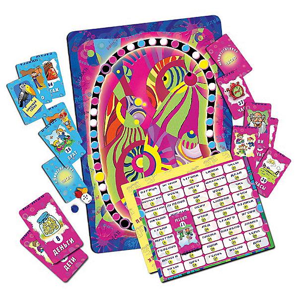 Чудеса во множественном числе, Игротека Татьяны БарчанИздательство Ребус (Игротека Татьяны Барчан)<br>Чудеса во множественном числе, Игротека Татьяны Барчан.<br><br>Характеристики:<br><br>• Для детей в возрасте: от 7 до 12 лет<br>• В комплекте: игровое поле; 48 карточек красного цвета (существительные во множественном числе, в т.ч. несколько карточек «придумай слово»); 48 карточек синего цвета (существительные в единственном числе ,в т.ч. несколько карточек «придумай слово»); 2 проверочные таблицы; набор фишек, кубик<br>• Тема: Единственное и множественное число имен существительных<br>• Материал: плотный качественный картон<br>• Производитель: ЦОТР Ребус, Россия<br>• Упаковка: картонная коробка<br>• Размер упаковки: 286х182х42 мм.<br>• Вес: 506 гр.<br><br>Не так просто превратить множественное число какого-нибудь слова в единственное и наоборот! Во-первых, превращения может и не произойти, ведь некоторые слова всегда остаются неизменными, т.е. несклоняемыми. А, во-вторых, при изменении числа слово может неожиданно утратить одну букву, например: пень-пни; мох-мхи, или чудесным образом сменить сразу все (человек-люди). <br><br>Слово может расставить ловушки: один - лист, а много? Листы или листья? А дно корзинки? Хорошо, если оно одно, а если много? А вот космосу множественное число ни к чему. Блеск, бусы, духи, деньги … В игре-ходилке – 90 слов. <br><br>В начале игры игровое поле помещается в центр стола, а карточки выкладываются «рубашками» вверх. Игроки бросают кубик и перемещают фишки. Если фишка попадает на красный кружок, игрок берет карточку красного цвета и, прочитав на ней слово, определяет можно ли употреблять его в единственном числе. <br><br>Если фишка попала на синий кружок, игрок берет карточку синего цвета и определяет можно ли употребляться слово на карточке во множественном числе. Если игроку выпала карточка «придумай слово», то он называет существительное, употребляемое только во множественном числе (красная карточка) или в единственном (синяя карто