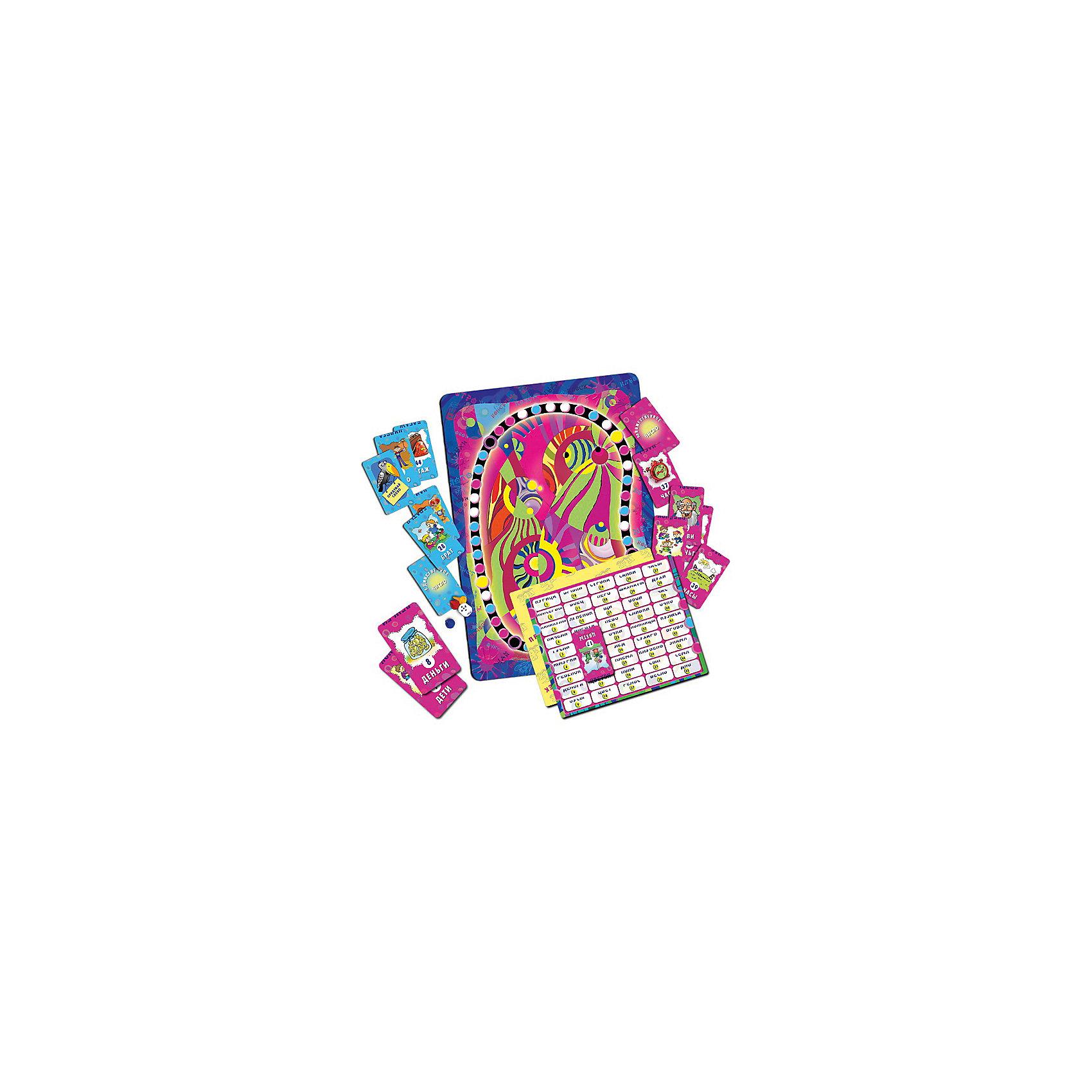 Чудеса во множественном числе, Игротека Татьяны БарчанКарточные игры<br>Чудеса во множественном числе, Игротека Татьяны Барчан.<br><br>Характеристики:<br><br>• Для детей в возрасте: от 7 до 12 лет<br>• В комплекте: игровое поле; 48 карточек красного цвета (существительные во множественном числе, в т.ч. несколько карточек «придумай слово»); 48 карточек синего цвета (существительные в единственном числе ,в т.ч. несколько карточек «придумай слово»); 2 проверочные таблицы; набор фишек, кубик<br>• Тема: Единственное и множественное число имен существительных<br>• Материал: плотный качественный картон<br>• Производитель: ЦОТР Ребус, Россия<br>• Упаковка: картонная коробка<br>• Размер упаковки: 286х182х42 мм.<br>• Вес: 506 гр.<br><br>Не так просто превратить множественное число какого-нибудь слова в единственное и наоборот! Во-первых, превращения может и не произойти, ведь некоторые слова всегда остаются неизменными, т.е. несклоняемыми. А, во-вторых, при изменении числа слово может неожиданно утратить одну букву, например: пень-пни; мох-мхи, или чудесным образом сменить сразу все (человек-люди). <br><br>Слово может расставить ловушки: один - лист, а много? Листы или листья? А дно корзинки? Хорошо, если оно одно, а если много? А вот космосу множественное число ни к чему. Блеск, бусы, духи, деньги … В игре-ходилке – 90 слов. <br><br>В начале игры игровое поле помещается в центр стола, а карточки выкладываются «рубашками» вверх. Игроки бросают кубик и перемещают фишки. Если фишка попадает на красный кружок, игрок берет карточку красного цвета и, прочитав на ней слово, определяет можно ли употреблять его в единственном числе. <br><br>Если фишка попала на синий кружок, игрок берет карточку синего цвета и определяет можно ли употребляться слово на карточке во множественном числе. Если игроку выпала карточка «придумай слово», то он называет существительное, употребляемое только во множественном числе (красная карточка) или в единственном (синяя карточка). <br><br>Правильный ответ