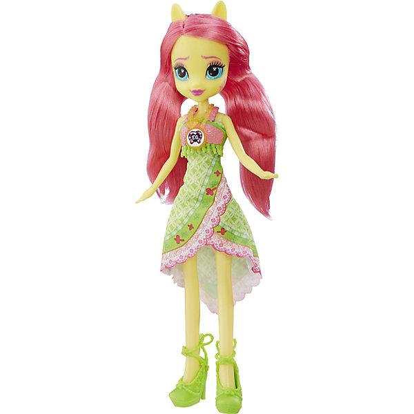 Кукла Эквестрия Герлз Легенды вечнозеленого леса - ФлаттершайБренды кукол<br>Характеристики:<br><br>• возраст: от 5 лет;<br>• материал: пластик;<br>• в комплекте: кукла, наряд, ожерелье;<br>• высота куклы: 22 см;<br>• размер упаковки: 33,5х14х5 см;<br>• вес упаковки: 200 гр.;<br>• страна производитель: Китай.<br><br>Кукла «Легенда Вечнозеленого леса» Hasbro — героиня известного мультсериала «Мой маленький пони. Девочки из Эквестрии» Флаттершай. Она одета в зеленое платье и туфельки. У куклы выразительные голубые глаза и длинные мягкие розовые волосы. Дополняет образ Флаттершай необычное ожерелье. На ожерелье имеется код, который поможет разблокировать увлекательную игру в приложении Equestria Girls.<br><br>Куклу «Легенда Вечнозеленого леса» Hasbro можно приобрести в нашем интернет-магазине.<br>Ширина мм: 50; Глубина мм: 140; Высота мм: 335; Вес г: 200; Возраст от месяцев: 60; Возраст до месяцев: 2147483647; Пол: Женский; Возраст: Детский; SKU: 6753136;