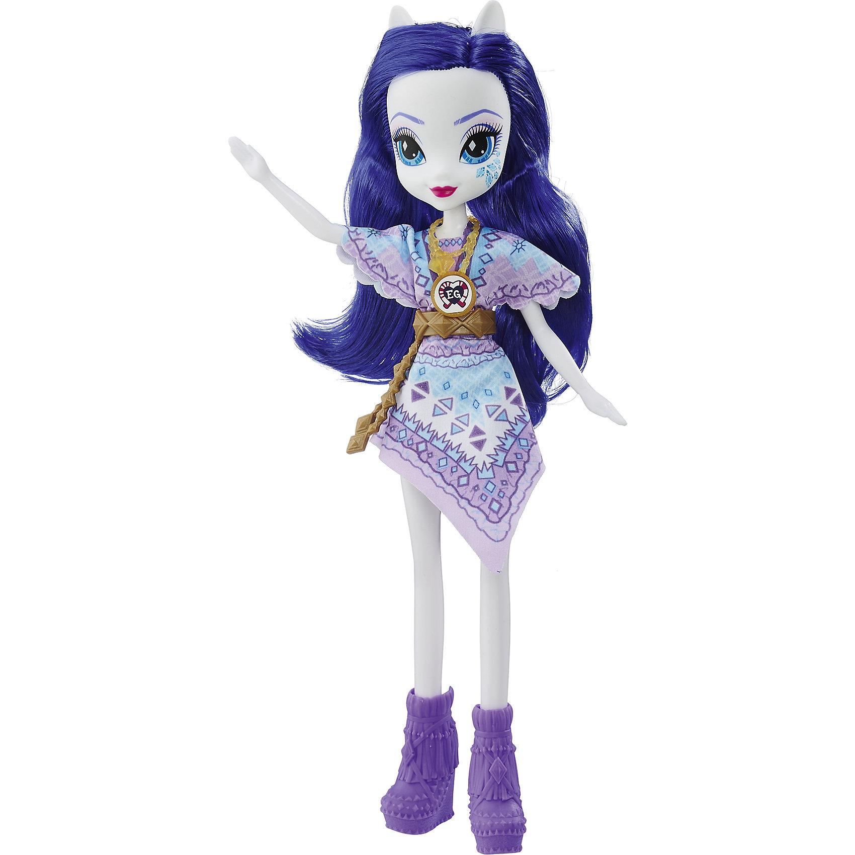 Кукла Эквестрия Герлз Легенды вечнозеленого леса - РаритиКуклы-модели<br>Характеристики:<br><br>• возраст: от 5 лет;<br>• материал: пластик;<br>• в комплекте: кукла, наряд, ожерелье;<br>• высота куклы: 22 см;<br>• размер упаковки: 33,5х14х5 см;<br>• вес упаковки: 200 гр.;<br>• страна производитель: Китай.<br><br>Кукла «Легенда Вечнозеленого леса» Hasbro — героиня известного мультсериала «Мой маленький пони. Девочки из Эквестрии» Рарити. Она одета в сиреневое платье с принтом. У куклы выразительные голубые глаза и длинные мягкие фиолетовые волосы. Дополняет образ Рарити необычное ожерелье. На ожерелье имеется код, который поможет разблокировать увлекательную игру в приложении Equestria Girls.<br><br>Куклу «Легенда Вечнозеленого леса» Hasbro можно приобрести в нашем интернет-магазине.<br><br>Ширина мм: 50<br>Глубина мм: 140<br>Высота мм: 335<br>Вес г: 200<br>Возраст от месяцев: 60<br>Возраст до месяцев: 2147483647<br>Пол: Женский<br>Возраст: Детский<br>SKU: 6753137