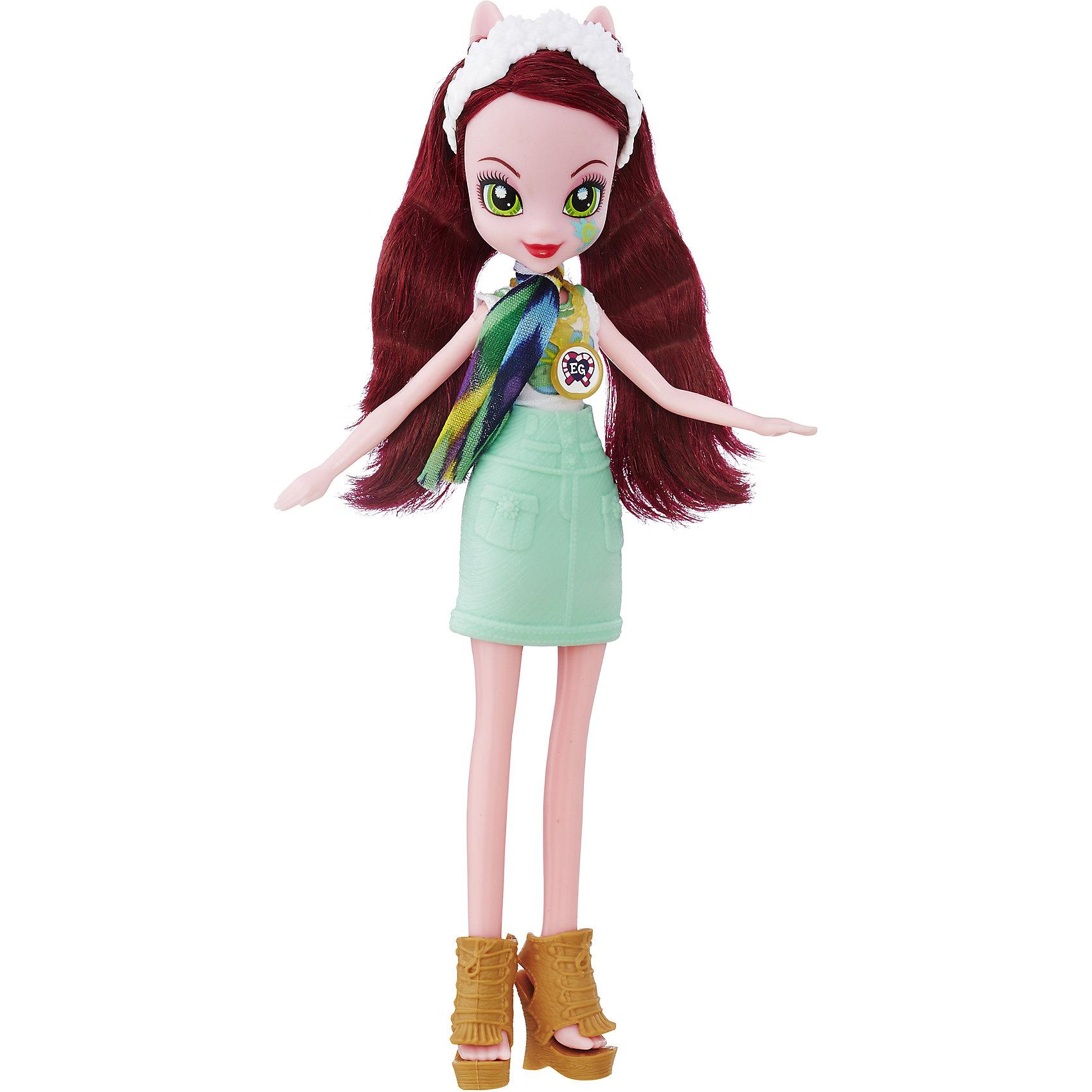 Кукла Эквестрия Герлз Легенды вечнозеленого леса - Глориоза ДейзиКуклы-модели<br>Характеристики:<br><br>• возраст: от 5 лет;<br>• материал: пластик;<br>• в комплекте: кукла, наряд, ожерелье;<br>• размер упаковки: 30,4х14х5 см;<br>• вес упаковки: 209 гр.;<br>• страна производитель: Китай.<br><br>Кукла «Легенда Вечнозеленого леса» Hasbro — героиня известного мультсериала «Мой маленький пони. Девочки из Эквестрии» Глориоса. Она одета в голубое платье и туфельки. У куклы выразительные зеленые глаза и длинные темные волосы. Дополняют образ Глориосы шарфик и необычное ожерелье. На ожерелье имеется код, который поможет разблокировать увлекательную игру в приложении Equestria Girls.<br><br>Куклу «Легенда Вечнозеленого леса» Hasbro можно приобрести в нашем интернет-магазине.<br><br>Ширина мм: 50<br>Глубина мм: 140<br>Высота мм: 304<br>Вес г: 209<br>Возраст от месяцев: 60<br>Возраст до месяцев: 2147483647<br>Пол: Женский<br>Возраст: Детский<br>SKU: 6753139