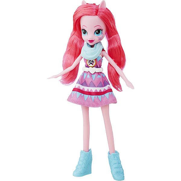 Кукла Эквестрия Герлз Легенды вечнозеленого леса Пинки ПайПопулярные игрушки<br>Характеристики:<br><br>• возраст: от 5 лет;<br>• материал: пластик;<br>• в комплекте: кукла, наряд, ожерелье;<br>• размер упаковки: 30,4х14х5 см;<br>• вес упаковки: 209 гр.;<br>• страна производитель: Китай.<br><br>Кукла «Легенда Вечнозеленого леса» Hasbro — героиня известного мультсериала «Мой маленький пони. Девочки из Эквестрии» Пинки Пай. Она одета в розовое платье и туфельки. У куклы выразительные голубые глаза и длинные розовые волосы. Дополняют образ Пинки Пай шарфик и необычное ожерелье. На ожерелье имеется код, который поможет разблокировать увлекательную игру в приложении Equestria Girls.<br><br>Куклу «Легенда Вечнозеленого леса» Hasbro можно приобрести в нашем интернет-магазине.<br><br>Ширина мм: 50<br>Глубина мм: 140<br>Высота мм: 304<br>Вес г: 209<br>Возраст от месяцев: 60<br>Возраст до месяцев: 2147483647<br>Пол: Женский<br>Возраст: Детский<br>SKU: 6753140
