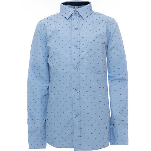 Рубашка для мальчика ScoolБлузки и рубашки<br>Рубашка для мальчика Scool<br>голубой, Сорочка с длинным рукавом в классическом стиле выполнена из приятной к телу смесовой ткани. Лекало этой модели полностью повторяет лекало модели для взрослого мужчины. Сорочка хорошо сочетается с костюмом в деловом стиле и джинсами.Преимущества: Модель с накладным карманомРукава сорочки с манжетами<br>Состав:<br>45% хлопок, 55% полиэстер<br>Ширина мм: 174; Глубина мм: 10; Высота мм: 169; Вес г: 157; Цвет: голубой; Возраст от месяцев: 72; Возраст до месяцев: 84; Пол: Мужской; Возраст: Детский; Размер: 122,164,158,152,146,140,134,128; SKU: 6754453;