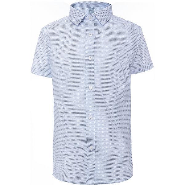 Рубашка для мальчика ScoolБлузки и рубашки<br>Рубашка для мальчика Scool<br>, , Сорочка с коротким рукавом в классическом стиле выполнена из приятной к телу смесовой ткани. Лекало этой модели полностью повторяет лекало модели для взрослого мужчины. Сорочка хорошо сочетается с костюмом в деловом стиле и джинсами.<br>Состав:<br>45% хлопок, 55% полиэстер<br>Ширина мм: 174; Глубина мм: 10; Высота мм: 169; Вес г: 157; Цвет: серый; Возраст от месяцев: 156; Возраст до месяцев: 168; Пол: Мужской; Возраст: Детский; Размер: 152,146,140,134,128,164,122,158; SKU: 6754480;