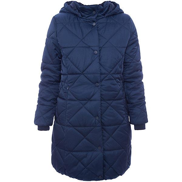 Пальто текстильное для девочки ScoolВерхняя одежда<br>Пальто текстильное для девочки Scool<br>Приталенное стеганое утепленное пальто прекрасно подойдет для холодной промозглой погоды. Специальный карман для фиксации бегунка на застёжке не позволит молнии травмировать нежную детскую кожу. Модель с вшивным капюшоном. Воротник и рукава дополнены трикотажными резинками для дополнительного сохранения тепла.Преимущества: Пальто с удобными вшивными карманами на молнииКапюшон пальто дополнен резинками. Даже при сильном ветре капюшон не спадет с головы ребенка<br>Состав:<br>Верх: 100% полиэстер, Подкладка: 100% полиэстер, Наполнитель: 100% полиэстер, 250 г/м2<br>Ширина мм: 356; Глубина мм: 10; Высота мм: 245; Вес г: 519; Цвет: синий; Возраст от месяцев: 72; Возраст до месяцев: 84; Пол: Женский; Возраст: Детский; Размер: 140,134,128,122,164,158,152,146; SKU: 6754635;