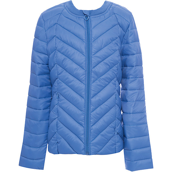 Куртка текстильная для девочки ScoolВерхняя одежда<br>Куртка текстильная для девочки Scool<br>Практичная утепленная стеганая куртка прекрасно подойдет для прогулок в прохладную погоду. Модель с удлиненной спинкой. Горловина из мягкой трикотажной резинки. Специальный карман для фиксации бегунка на молнии не позволит застежке травмировать нежную детскую кожу. Подкладка куртки из яркой ткани с цветочным рисунком.Преимущества: Модель из яркой ткани с водоотталкивающей пропиткойСветоотражающие элементы на рукаве и по низу изделияВшивные карманы на молнии<br>Состав:<br>Верх: 100% нейлон, подкладка: 100% полиэстер, наполнитель: 100% полиэстер, 150 г<br><br>Ширина мм: 356<br>Глубина мм: 10<br>Высота мм: 245<br>Вес г: 519<br>Цвет: синий<br>Возраст от месяцев: 72<br>Возраст до месяцев: 84<br>Пол: Женский<br>Возраст: Детский<br>Размер: 122,164,158,152,146,140,134,128<br>SKU: 6754662