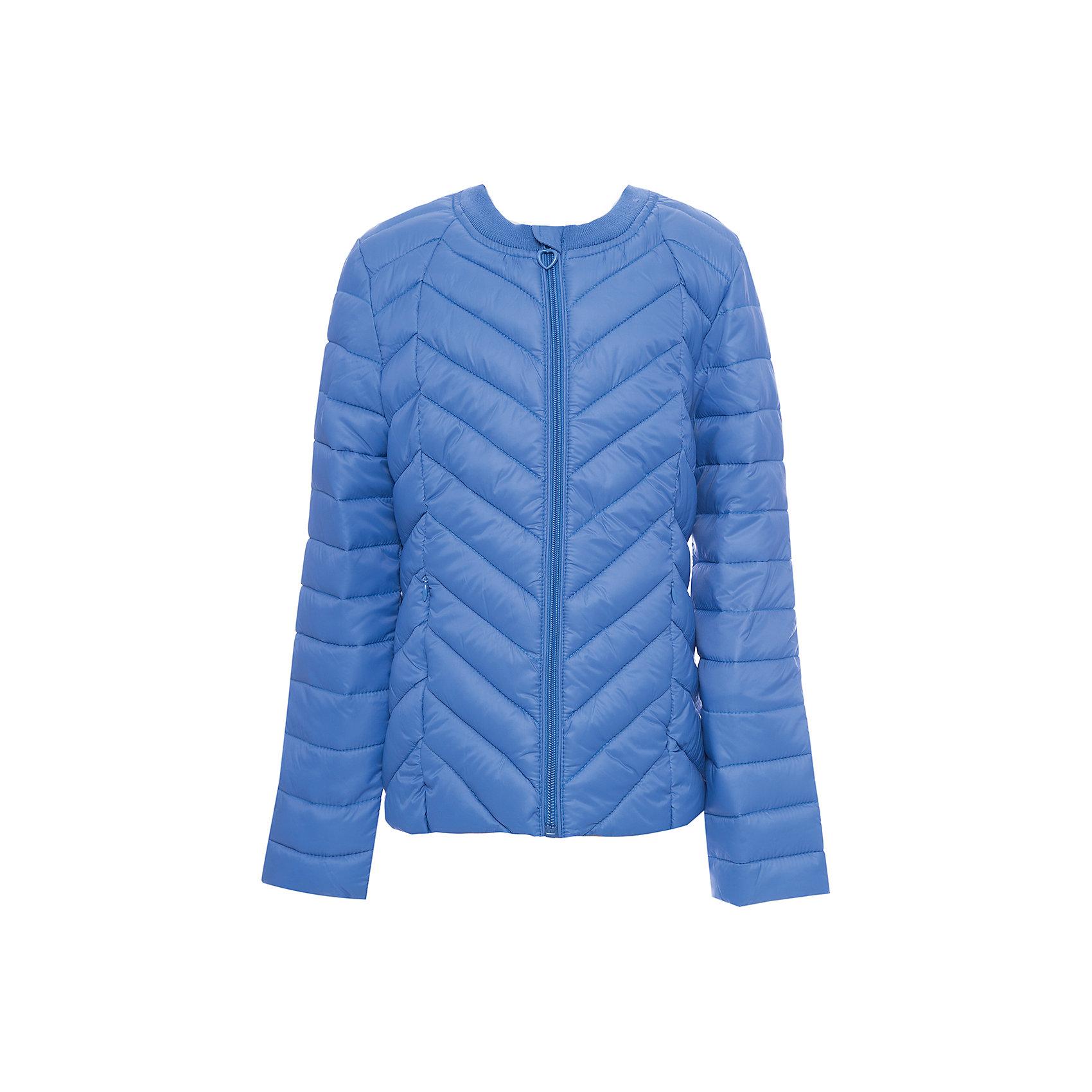 Куртка текстильная для девочки ScoolВерхняя одежда<br>Куртка текстильная для девочки Scool<br>Практичная утепленная стеганая куртка прекрасно подойдет для прогулок в прохладную погоду. Модель с удлиненной спинкой. Горловина из мягкой трикотажной резинки. Специальный карман для фиксации бегунка на молнии не позволит застежке травмировать нежную детскую кожу. Подкладка куртки из яркой ткани с цветочным рисунком.Преимущества: Модель из яркой ткани с водоотталкивающей пропиткойСветоотражающие элементы на рукаве и по низу изделияВшивные карманы на молнии<br>Состав:<br>Верх: 100% нейлон, подкладка: 100% полиэстер, наполнитель: 100% полиэстер, 150 г<br><br>Ширина мм: 356<br>Глубина мм: 10<br>Высота мм: 245<br>Вес г: 519<br>Цвет: синий<br>Возраст от месяцев: 156<br>Возраст до месяцев: 168<br>Пол: Женский<br>Возраст: Детский<br>Размер: 164,122,128,134,140,146,152,158<br>SKU: 6754662
