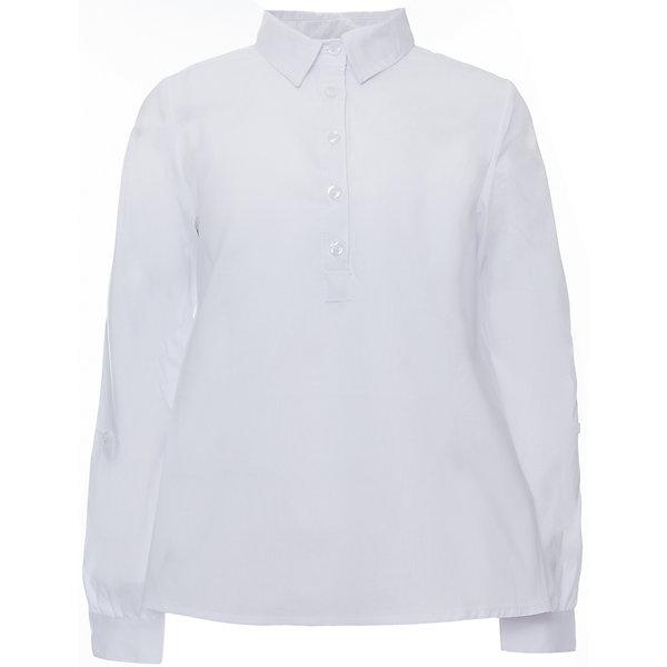 Блузка текстильная для девочки ScoolБлузки и рубашки<br>Блузка текстильная для девочки Scool<br>Блузка в классическом стиле с длинным рукавом сможет дополнить повседневный гардероб ребенка. Модель с отложным воротником и заниженной спинкой. Блузка хорошо сочетается как с костюмами так и с джинсами.<br>Состав:<br>68% хлопок, 28% полиэстер, 4% эластан<br>Ширина мм: 186; Глубина мм: 87; Высота мм: 198; Вес г: 197; Цвет: белый; Возраст от месяцев: 96; Возраст до месяцев: 108; Пол: Женский; Возраст: Детский; Размер: 134,164,158,152,146,140,128; SKU: 6754827;