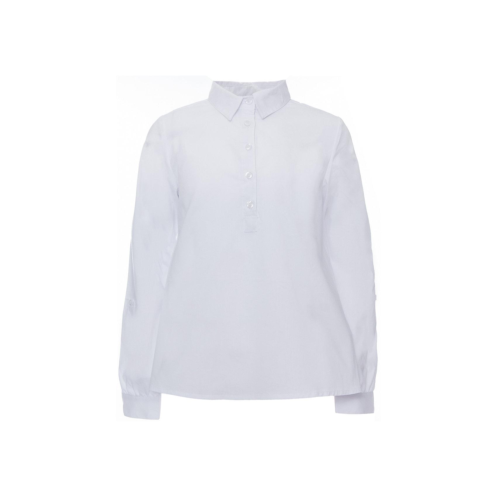 Блузка текстильная для девочки ScoolБлузки и рубашки<br>Блузка текстильная для девочки Scool<br>Блузка в классическом стиле с длинным рукавом сможет дополнить повседневный гардероб ребенка. Модель с отложным воротником и заниженной спинкой. Блузка хорошо сочетается как с костюмами так и с джинсами.<br>Состав:<br>68% хлопок, 28% полиэстер, 4% эластан<br><br>Ширина мм: 186<br>Глубина мм: 87<br>Высота мм: 198<br>Вес г: 197<br>Цвет: белый<br>Возраст от месяцев: 96<br>Возраст до месяцев: 108<br>Пол: Женский<br>Возраст: Детский<br>Размер: 134,164,158,152,146,140,128<br>SKU: 6754827