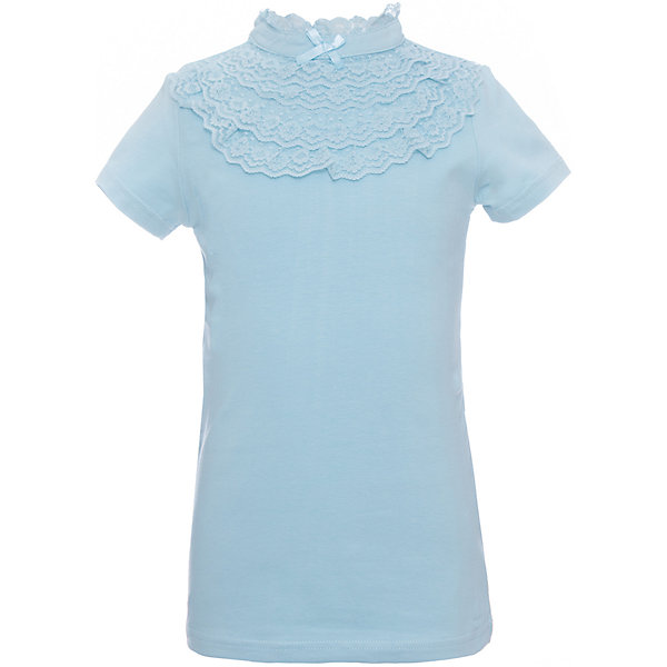 Блузка трикотажная для девочки S'cool
