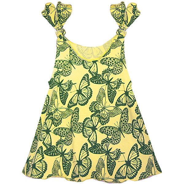 Платье для девочки KotMarKotПлатья и сарафаны<br>Платье для девочки KotMarKot<br>Состав:<br>100% хлопок<br><br>Ширина мм: 236<br>Глубина мм: 16<br>Высота мм: 184<br>Вес г: 177<br>Цвет: желтый<br>Возраст от месяцев: 18<br>Возраст до месяцев: 24<br>Пол: Женский<br>Возраст: Детский<br>Размер: 92,122,116,110,104,98<br>SKU: 6755119