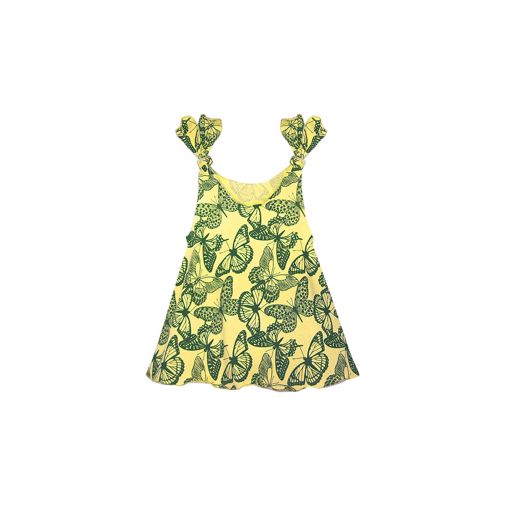 Платье для девочки KotMarKotПлатья и сарафаны<br>Платье для девочки KotMarKot<br>Состав:<br>100% хлопок<br><br>Ширина мм: 236<br>Глубина мм: 16<br>Высота мм: 184<br>Вес г: 177<br>Цвет: желтый<br>Возраст от месяцев: 72<br>Возраст до месяцев: 84<br>Пол: Женский<br>Возраст: Детский<br>Размер: 122,92,98,104,110,116<br>SKU: 6755119