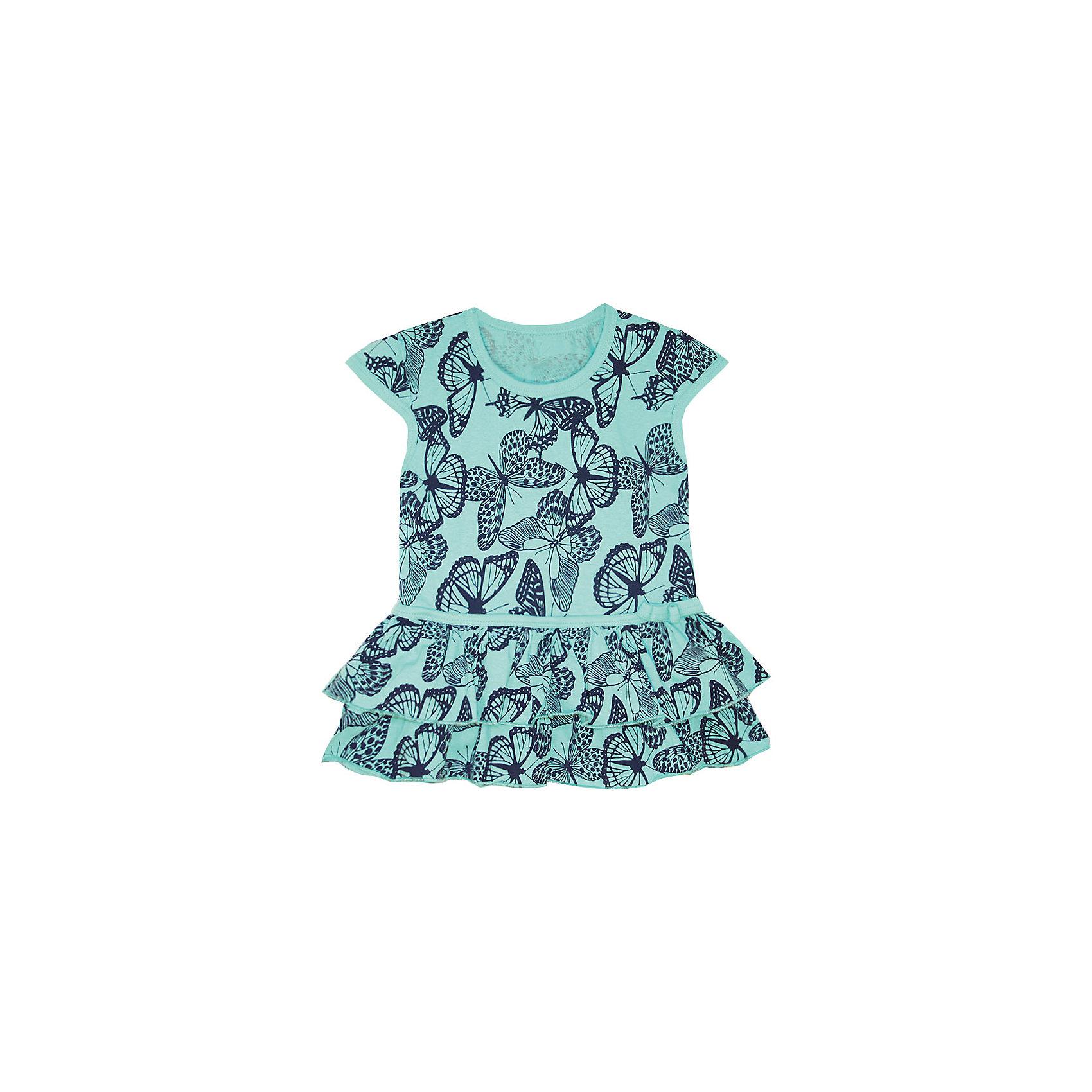 Платье для девочки KotMarKotПлатья и сарафаны<br>Платье для девочки KotMarKot<br>Состав:<br>100% хлопок<br><br>Ширина мм: 236<br>Глубина мм: 16<br>Высота мм: 184<br>Вес г: 177<br>Цвет: зеленый<br>Возраст от месяцев: 72<br>Возраст до месяцев: 84<br>Пол: Женский<br>Возраст: Детский<br>Размер: 92,98,104,110,116,122<br>SKU: 6755147