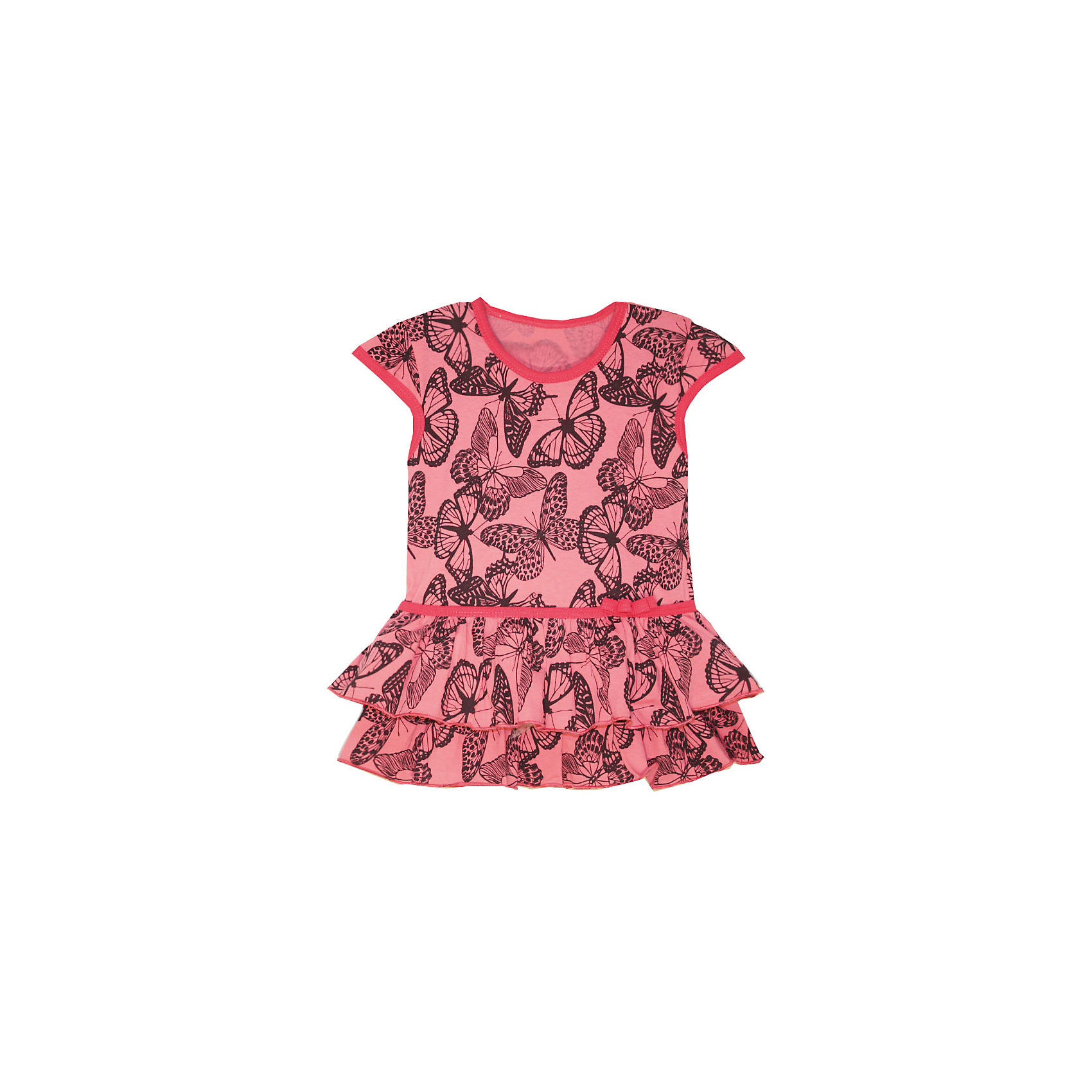 Платье для девочки KotMarKotПлатья и сарафаны<br>Платье для девочки KotMarKot<br>Состав:<br>100% хлопок<br><br>Ширина мм: 236<br>Глубина мм: 16<br>Высота мм: 184<br>Вес г: 177<br>Цвет: розовый<br>Возраст от месяцев: 18<br>Возраст до месяцев: 24<br>Пол: Женский<br>Возраст: Детский<br>Размер: 92,98,104,110,116,122<br>SKU: 6755161