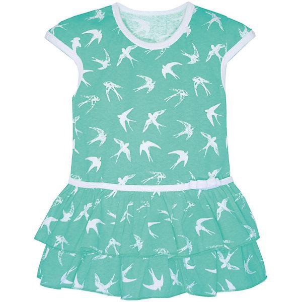 Платье для девочки KotMarKotПлатья и сарафаны<br>Платье для девочки KotMarKot<br>Состав:<br>100% хлопок<br><br>Ширина мм: 236<br>Глубина мм: 16<br>Высота мм: 184<br>Вес г: 177<br>Цвет: зеленый<br>Возраст от месяцев: 18<br>Возраст до месяцев: 24<br>Пол: Женский<br>Возраст: Детский<br>Размер: 92,122,116,110,104,98<br>SKU: 6755168
