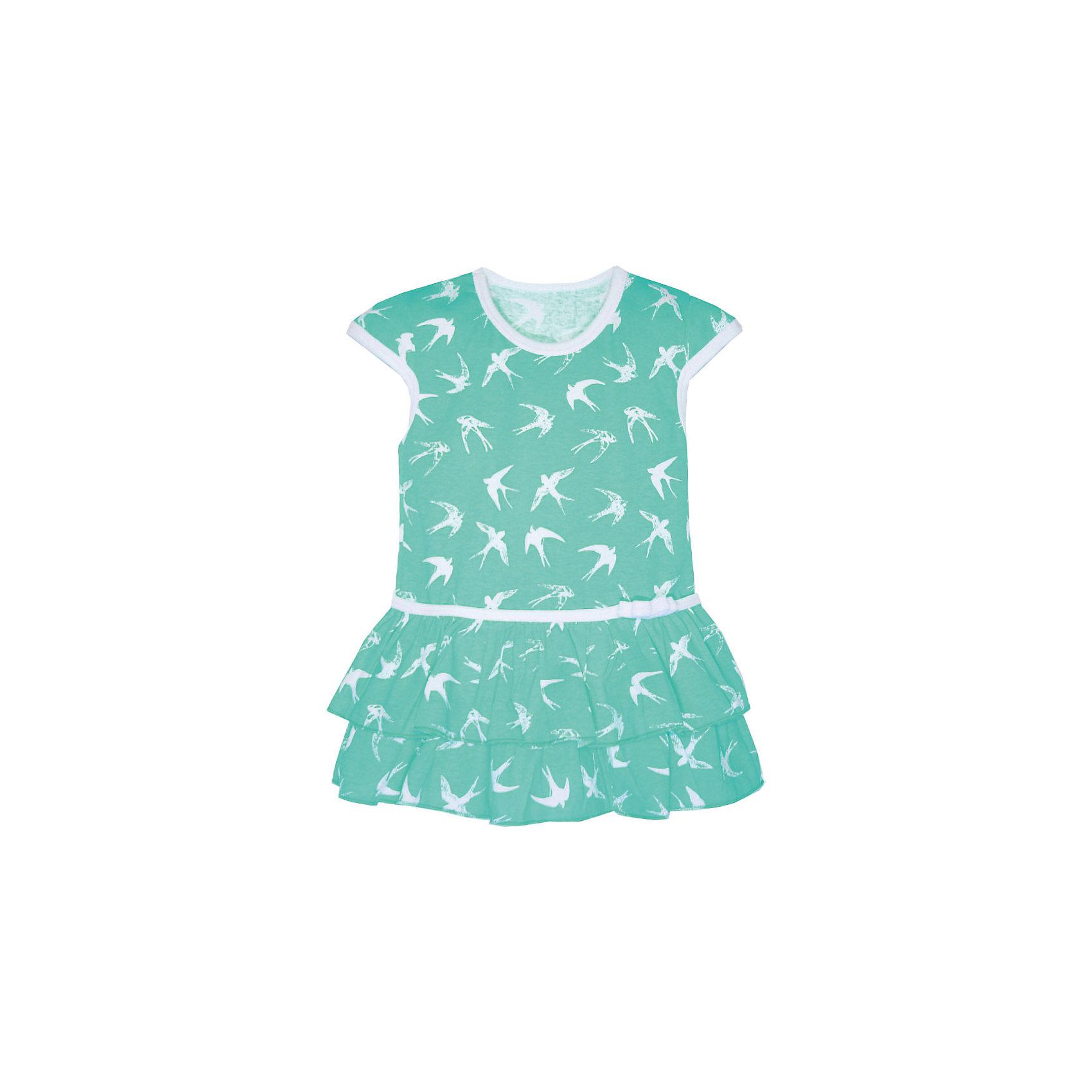 Платье для девочки KotMarKotПлатья и сарафаны<br>Платье для девочки KotMarKot<br>Состав:<br>100% хлопок<br><br>Ширина мм: 236<br>Глубина мм: 16<br>Высота мм: 184<br>Вес г: 177<br>Цвет: зеленый<br>Возраст от месяцев: 72<br>Возраст до месяцев: 84<br>Пол: Женский<br>Возраст: Детский<br>Размер: 122,92,98,104,110,116<br>SKU: 6755168