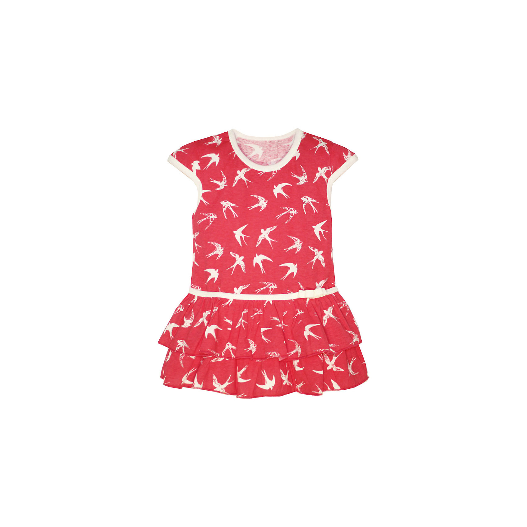 Платье для девочки KotMarKotПлатья и сарафаны<br>Платье для девочки KotMarKot<br>Состав:<br>100% хлопок<br><br>Ширина мм: 236<br>Глубина мм: 16<br>Высота мм: 184<br>Вес г: 177<br>Цвет: розовый<br>Возраст от месяцев: 72<br>Возраст до месяцев: 84<br>Пол: Женский<br>Возраст: Детский<br>Размер: 92,98,104,110,116,122<br>SKU: 6755175