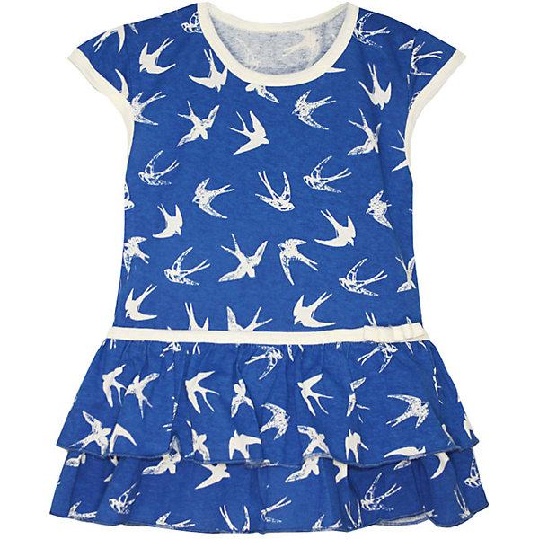 Платье для девочки KotMarKotПлатья и сарафаны<br>Характеристики товара:<br><br>• цвет: синий<br>• состав ткани: 100% хлопок<br>• сезон: лето<br>• короткие рукава<br>• страна бренда: Россия<br>• страна изготовитель: Россия<br><br>Платье Стрижи бренда КотМарКот выполнено из хлопка. Его легко одеть, поскольку модель не имеет застежек. Отличный вариант для летних прогулок на свежем воздухе.<br><br>Детская одежда от российского бренда KotMarKot обеспечит ребенку комфорт.<br><br>Платье KotMarKot (КотМарКот) для девочки можно купить в нашем интернет-магазине.<br>Ширина мм: 236; Глубина мм: 16; Высота мм: 184; Вес г: 177; Цвет: синий; Возраст от месяцев: 18; Возраст до месяцев: 24; Пол: Женский; Возраст: Детский; Размер: 92,122,116,110,104,98; SKU: 6755182;