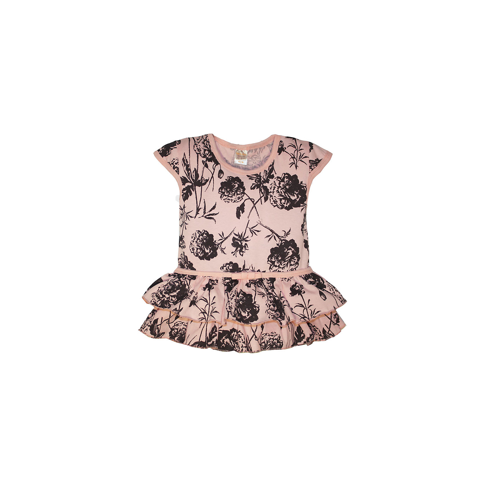 Платье для девочки KotMarKotПлатья и сарафаны<br>Платье для девочки KotMarKot<br>Состав:<br>100% хлопок<br><br>Ширина мм: 236<br>Глубина мм: 16<br>Высота мм: 184<br>Вес г: 177<br>Цвет: розовый<br>Возраст от месяцев: 72<br>Возраст до месяцев: 84<br>Пол: Женский<br>Возраст: Детский<br>Размер: 122,92,98,104,110,116<br>SKU: 6755189