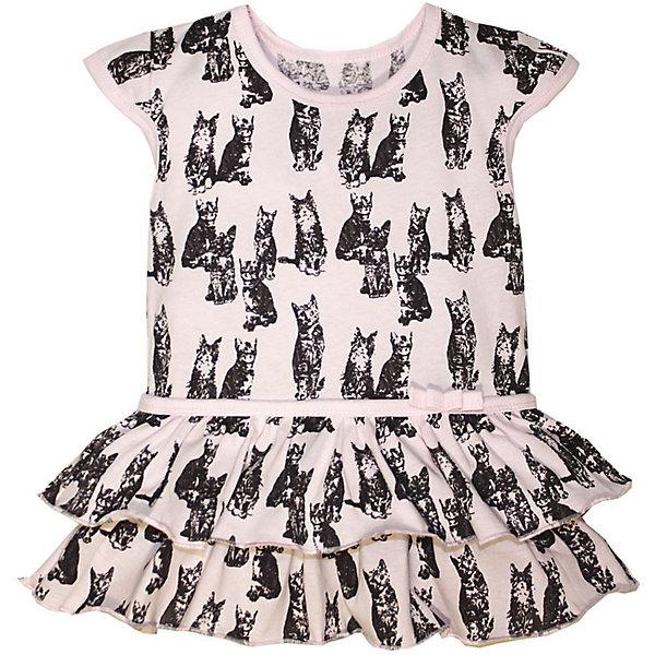 Платье для девочки KotMarKotПлатья и сарафаны<br>Платье для девочки KotMarKot<br>Состав:<br>100% хлопок<br><br>Ширина мм: 236<br>Глубина мм: 16<br>Высота мм: 184<br>Вес г: 177<br>Цвет: розовый<br>Возраст от месяцев: 24<br>Возраст до месяцев: 36<br>Пол: Женский<br>Возраст: Детский<br>Размер: 98,92,122,116,110,104<br>SKU: 6755196