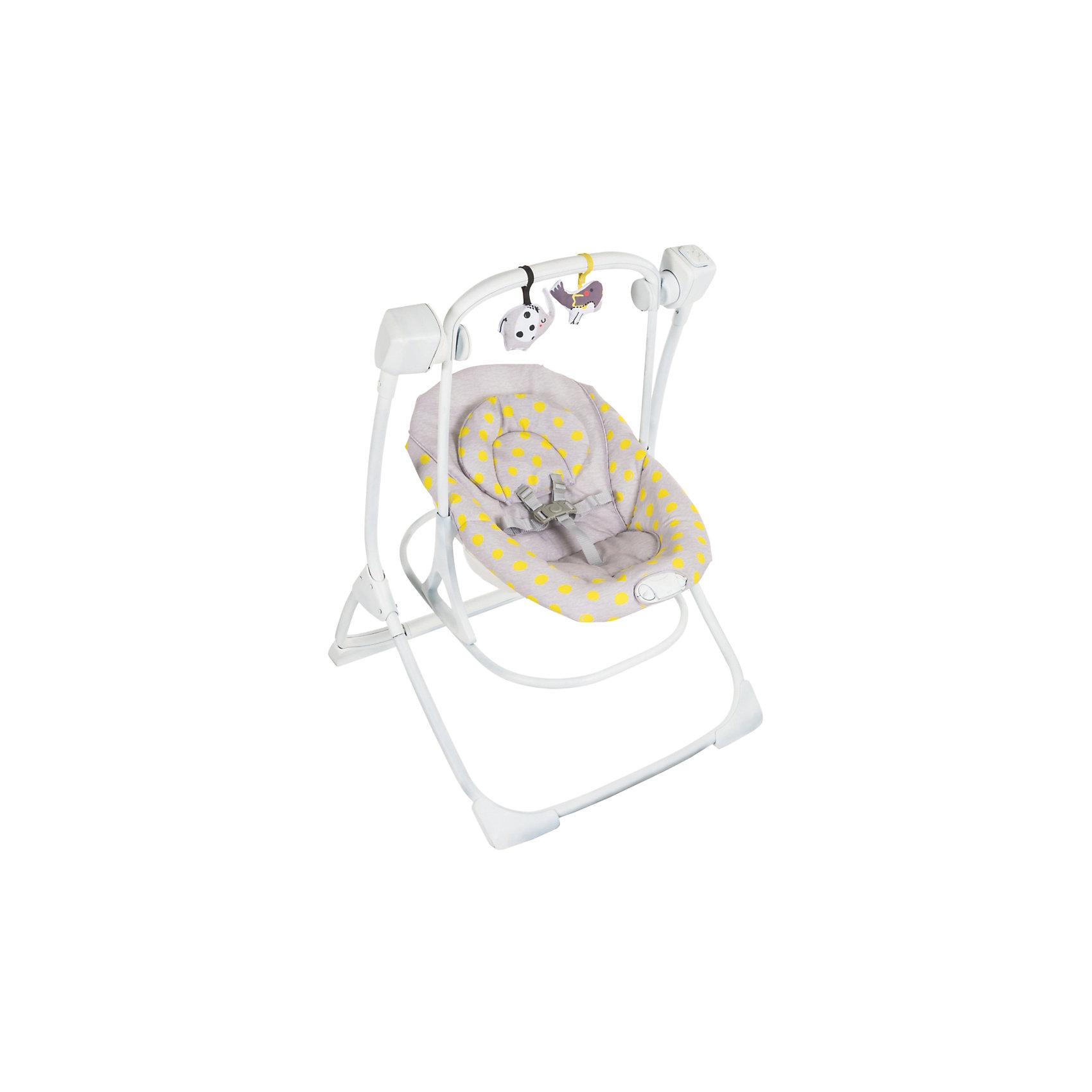 Электрокачели 2 в 1 Cozy Duet, Graco, бежевыйКачели электронные<br>Характеристики:<br><br>• 4 скорости качания;<br>• 2 типа вибрации;<br>• наклон спинки регулируется в 2-х положениях;<br>• 5-ти точечные ремни безопасности;<br>• дуга со съемными игрушками;<br>• звуковое сопровождение: мелодии, звуки природы;<br>• допустимая нагрузка: до 9 кг;<br>• качели работают от сети;<br>• размер электрокачелей: 86х70х96 см;<br>• вес:  7,6 кг;<br>• размер упаковки: 66х19х73 см.<br><br>Электрокачели Cozy Duet используются с первых дней жизни малыша. Регулируется наклон спинки, настраивается скорость качания и тип вибрации. Мягкая обивка электрокачелей не вызывает аллергической реакции даже у малышей с чувствительной кожей. <br><br>Электрокачели 2 в 1 Cozy Duet, Graco, бежевый можно купить в нашем интернет-магазине.<br><br>Ширина мм: 660<br>Глубина мм: 190<br>Высота мм: 730<br>Вес г: 9550<br>Возраст от месяцев: 0<br>Возраст до месяцев: 12<br>Пол: Унисекс<br>Возраст: Детский<br>SKU: 6757378