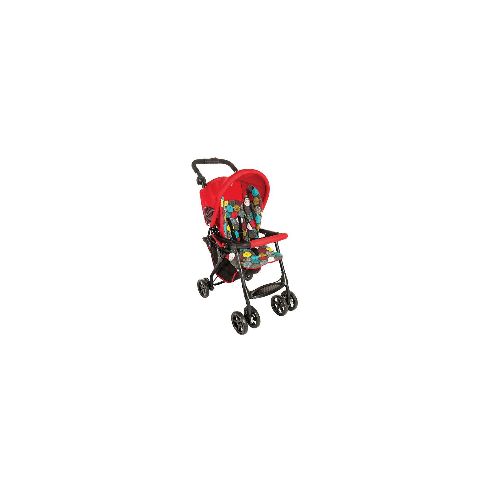 Прогулочная коляска Citisport Lite, Graco, Bubbles красныйПрогулочные коляски<br>Характеристики коляски<br><br>Прогулочный блок:<br><br>• регулируется наклон спинки, горизонтальное положение;<br>• регулируется подножка;<br>• 5-ти точечные ремни безопасности;<br>• защитный бампер;<br>• материал: алюминий, пластик, полиэстер.<br><br>Рама коляски:<br><br>• ручка коляски регулируется по высоте;<br>• коляска кладывается одной рукой;<br>• устойчива в сложенном виде;<br>• колеса сдвоенные;<br>• передние поворотные колеса с блокировкой;<br>• тип складывания: книжка.<br><br>Размер коляски: 68х45х102 см<br>Размер в сложенном виде: 85х45х30 см<br>Длина спального места: 75 см<br>Ширина сиденья: 34 см<br>Глубина сиденья: 28 см<br>Высота спинки: 46 см<br>Вес: 6 кг<br>Размер упаковки: 42х74х48 см<br>Вес в упаковке: 7,5 кг<br><br>Прогулочную коляску Citisport Lite, Graco, Bubbles цвет красный можно купить в нашем интернет-магазине.<br><br>Ширина мм: 420<br>Глубина мм: 240<br>Высота мм: 780<br>Вес г: 8100<br>Возраст от месяцев: 6<br>Возраст до месяцев: 36<br>Пол: Унисекс<br>Возраст: Детский<br>SKU: 6757386