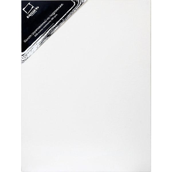 Холст на подрамнике Малевичъ, хлопок 380 гр, 50x60 смХолсты<br>Полностью готовые к работе холсты  для профессиональной живописи. Представляют собой грунтованное среднезернистое полотно из 100% хлопка плотностью 380 г/кв. м, натянутое на деревянный подрамник. В комплект входят клинья, позволяющие регулировать степень натяжения полотна. Гладкая поверхность хлопкового полотна удобна для предварительных набросков, а повышенная плотность холста позволяет использовать его для картин большого формата. Все холсты Малевич изготавливаются из 100% натуральных материалов и проходят тестирование профессиональными художниками.<br><br>Холсты на подрамниках Малевич:<br><br>•    изготовлены из плотного натурального полотна без узелков и неровностей<br>•    профессионально натянуты и загрунтованы<br>•    экономят время художника – сразу же можно приступать к работе<br>•    подходят для любого вида красок, кроме акварельных (для которых у нас есть Акварельные холсты)<br>•    гладкая поверхность удобна для карандашных набросков<br>Ширина мм: 500; Глубина мм: 600; Высота мм: 20; Вес г: 750; Возраст от месяцев: 84; Возраст до месяцев: 2147483647; Пол: Унисекс; Возраст: Детский; SKU: 6757435;