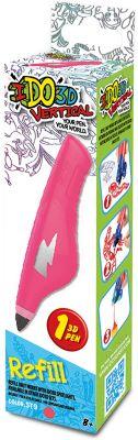 REDWOOD 3D Картридж для 3Д ручки Вертикаль , розовый