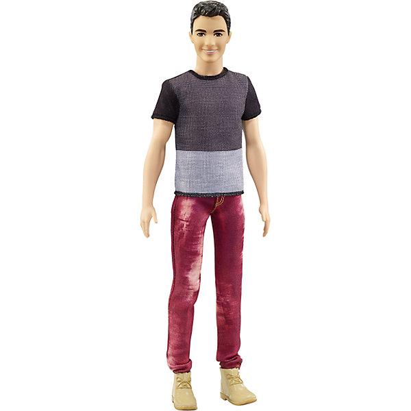Кен из серии Игра с модой, брюнет, 29 см, BarbieBarbie<br>Характеристики товара:<br><br>• возраст: от 3 лет;<br>• материал: пластик;<br>• в комплекте: кукла, одежда;<br>• высота куклы: 29 см;<br>• размер упаковки: 32,5х12,5х6 см;<br>• вес упаковки: 282 гр.;<br>• страна производитель: Китай.<br><br>Кукла Кен «Игра с модой» Barbie одет в серую футболку и красные джинсы. У Кена темные волосы и карие глаза. С ним девочка сможет придумать увлекательные сюжеты для игры.<br><br>Куклу Кен «Игра с модой» Barbie можно приобрести в нашем интернет-магазине.<br><br>Ширина мм: 125<br>Глубина мм: 60<br>Высота мм: 325<br>Вес г: 282<br>Возраст от месяцев: 36<br>Возраст до месяцев: 120<br>Пол: Женский<br>Возраст: Детский<br>SKU: 6758337