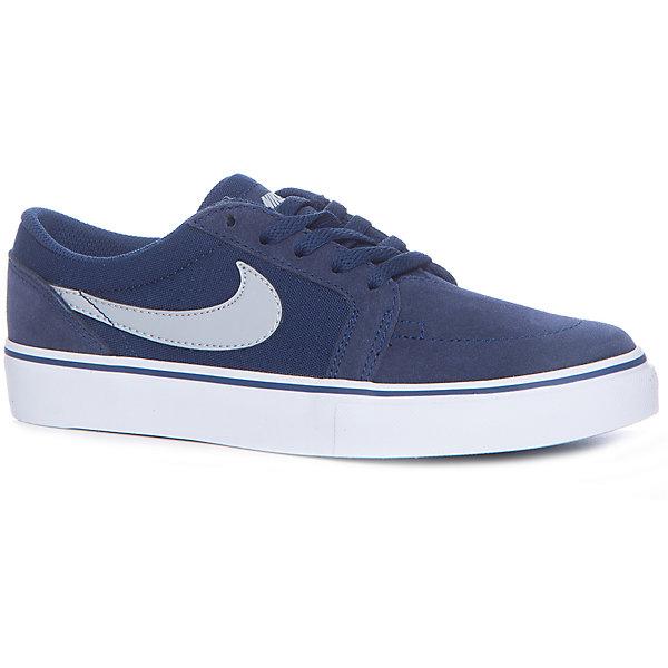 Кеды Nike SB Satire IIКеды<br>Характеристики товара:<br><br>• цвет: серый<br>• спортивный стиль<br>• внешний материал обуви: кожа 57%, текстиль 43%<br>• внутренний материал: текстиль<br>• стелька: текстиль<br>• подошва: резина<br>• декорированы логотипом<br>• вставка в подошве для мягкой амортизации<br>• тип застежки: шнуровка<br>• сезон: весна, лето<br>• температурный режим: от +10°С до +20°С<br>• устойчивая подошва<br>• защищенный мыс и пятка<br>• износостойкий материал<br>• коллекция: весна-лето 2017<br>• страна бренда: США<br>• страна изготовитель: Индонезия<br><br>Продукция бренда NIKE известна высоким качеством, уникальным узнаваемым дизайном и проработанными деталями, которые создают удобство при занятиях спортом и долгой ходьбе. Натуральная кожа в качестве внутреннего материала помогает этой модели обеспечить ребенку комфорт и предотвратить натирание.<br><br>Уход за такой обувью прост, она легко чистится и быстро сушится. Надевается элементарно благодаря удобной шнуровке.<br><br>Обувь качественно проработана, она долго служит, удобно сидит, отлично защищает детскую ногу от повреждений. Стильно выглядит и хорошо смотрится с одеждой разных цветов и стилей.<br><br>Кеды NIKE (Найк) можно купить в нашем интернет-магазине.<br><br>Ширина мм: 250<br>Глубина мм: 150<br>Высота мм: 150<br>Вес г: 250<br>Цвет: серый<br>Возраст от месяцев: 132<br>Возраст до месяцев: 144<br>Пол: Мужской<br>Возраст: Детский<br>Размер: 34.5,39,38.5,38,37.5,37,36.5,35.5<br>SKU: 6758790