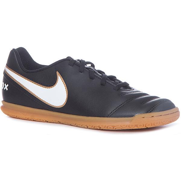Кеды Nike JR Tiempo Rio IIIКеды<br>Характеристики товара:<br><br>• цвет: черный<br>• спортивный стиль<br>• внешний материал обуви: искусственная кожа<br>• внутренний материал: текстиль<br>• стелька: текстиль, ЭВА<br>• подошва: резина<br>• декорированы логотипом<br>• вставка в подошве для мягкой амортизации<br>• тип застежки: шнуровка<br>• сезон: весна, лето<br>• температурный режим: от +10°С до +20°С<br>• устойчивая подошва<br>• защищенный мыс и пятка<br>• износостойкий материал<br>• коллекция: весна-лето 2017<br>• страна бренда: США<br>• страна изготовитель: Индонезия<br><br>Продукция бренда NIKE известна высоким качеством, уникальным узнаваемым дизайном и проработанными деталями, которые создают удобство при занятиях спортом и долгой ходьбе. Натуральная кожа в качестве внутреннего материала помогает этой модели обеспечить ребенку комфорт и предотвратить натирание.<br><br>Уход за такой обувью прост, она легко чистится и быстро сушится. Надевается элементарно благодаря удобной шнуровке.<br><br>Обувь качественно проработана, она долго служит, удобно сидит, отлично защищает детскую ногу от повреждений. Стильно выглядит и хорошо смотрится с одеждой разных цветов и стилей.<br><br>Кеды NIKE (Найк) можно купить в нашем интернет-магазине.<br><br>Ширина мм: 250<br>Глубина мм: 150<br>Высота мм: 150<br>Вес г: 250<br>Цвет: черный<br>Возраст от месяцев: 120<br>Возраст до месяцев: 132<br>Пол: Мужской<br>Возраст: Детский<br>Размер: 34,34.5,33.5,31.5,32,37,36.5,35.5<br>SKU: 6758806